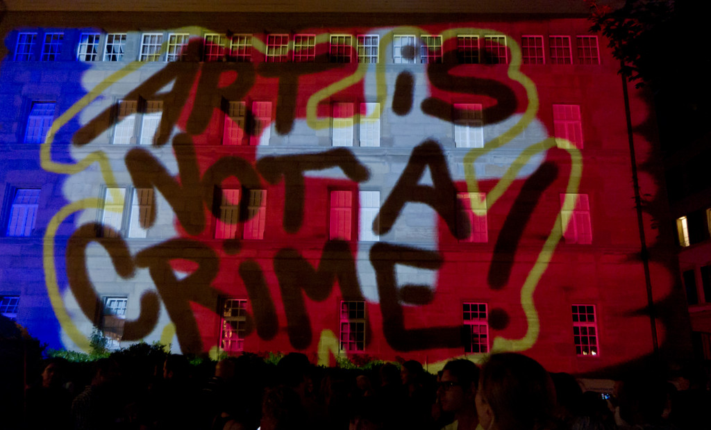 Art can never be crime!