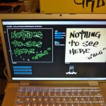 Laptop nothing